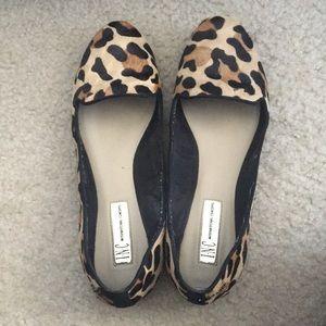 I.N.C. Leopard print flats loafers